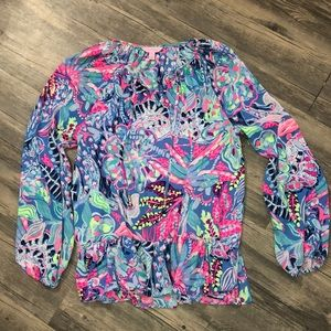 lilly pulitzer blouse 🌺